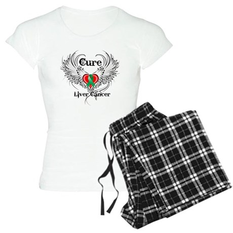Cure Liver Cancer Women's Light Pajamas