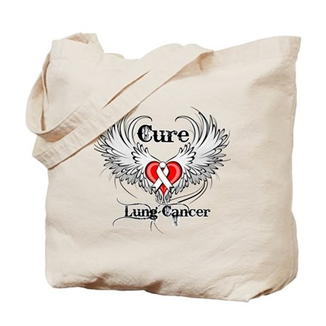 Cure Lung Cancer Tote Bag