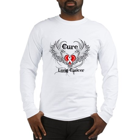 Cure Lung Cancer Long Sleeve T-Shirt