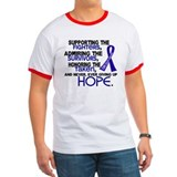 &#169; Supporting Admiring 3.2 Colon Cancer Shirts Ring