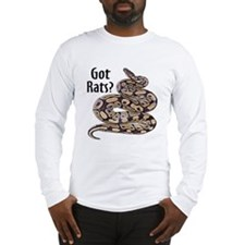 Snake Python Got Rats Long Sleeve T-Shirt