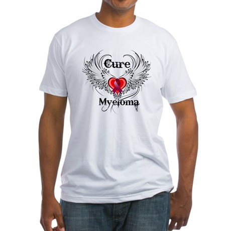 Cure Multiple Myeloma Fitted T-Shirt