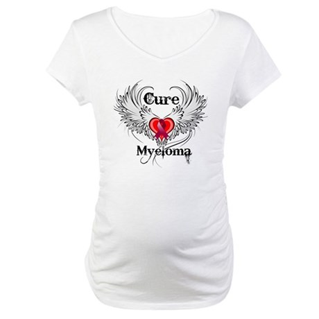 Cure Multiple Myeloma Maternity T-Shirt