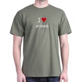 I LOVE Snakes T-Shirt