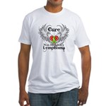 Cure Non-Hodgkins Lymphoma Fitted T-Shirt