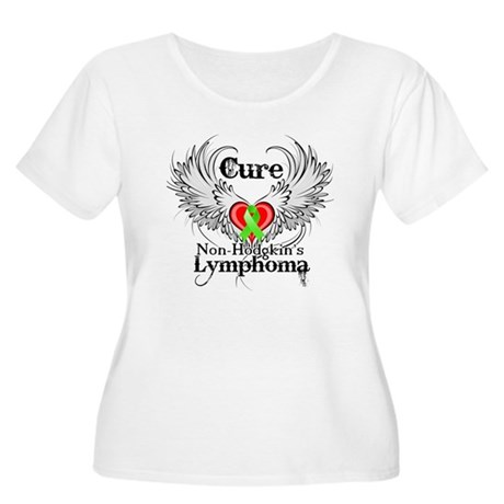 Cure Non-Hodgkins Lymphoma Women's Plus Size Scoop