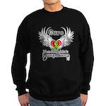 Cure Non-Hodgkins Lymphoma Sweatshirt (dark)