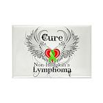 Cure Non-Hodgkins Lymphoma Rectangle Magnet (100 p