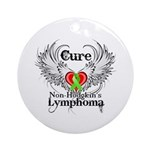 Cure Non-Hodgkins Lymphoma Ornament (Round)
