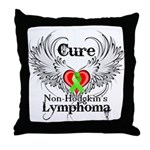 Cure Non-Hodgkins Lymphoma Throw Pillow
