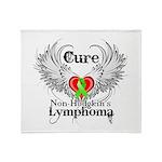 Cure Non-Hodgkins Lymphoma Throw Blanket
