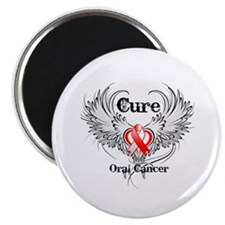 "Cure Oral Cancer 2.25"" Magnet (100 pack)"