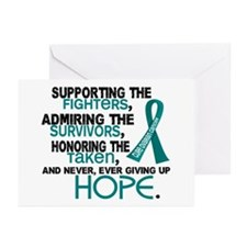 © Supporting Admiring 3.2 Ovarian Cancer Shirts Gr