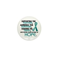 © Supporting Admiring 3.2 Ovarian Cancer Shirts Mi