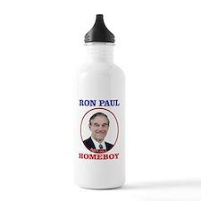 Ron Paul Is My Homeboy Water Bottle
