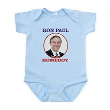 Ron Paul Is My Homeboy Infant Bodysuit