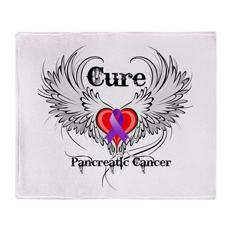 Cure Pancreatic Cancer Stadium Blanket