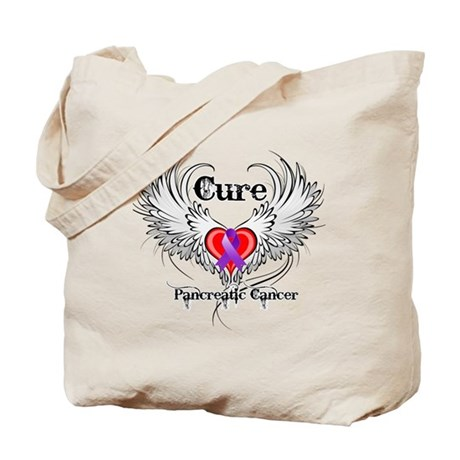Cure Pancreatic Cancer Tote Bag
