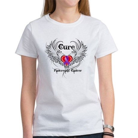 Cure Pancreatic Cancer Women's T-Shirt