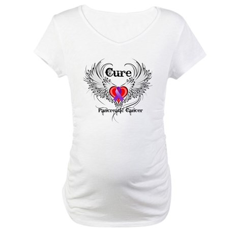 Cure Pancreatic Cancer Maternity T-Shirt
