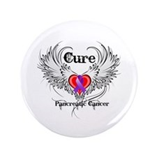 "Cure Pancreatic Cancer 3.5"" Button"