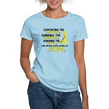 © Supporting Admiring 3.2 Sarcoma Shirts T-Shirt