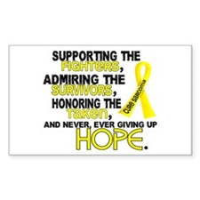 © Supporting Admiring 3.2 Sarcoma Shirts Decal
