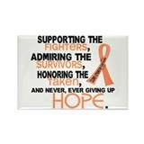 © Supporting Admiring 3.2 Uterine Cancer Shirts Re
