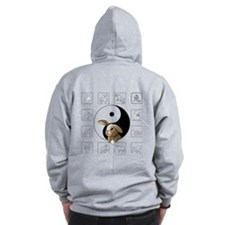 Rabbit Zodiac Zip Hoody