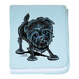 Affenpinscher Lover baby blanket