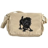 Affenpinscher Lover Messenger Bag