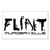 Flint Michigan Murderville Decal