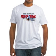 P51 Mustang Red Tail Shirt