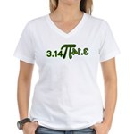 Pi 3.14 Women's V-Neck T-Shirt