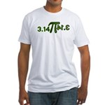 Pi 3.14 Fitted T-Shirt