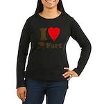 I love farting Women's Long Sleeve Dark T-Shirt