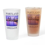 Funny Oregon Drinking Glass