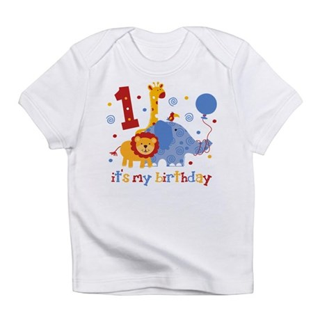 Safari 1st Birthday Infant T-Shirt