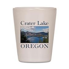 Unique Crater lake Shot Glass