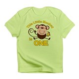 Little Monkey 1st Birthday Boy Infant Tee