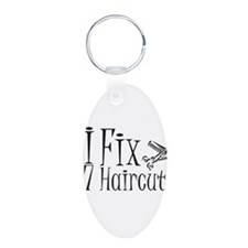 I Fix $7 Haircuts Keychains