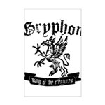 Gryphon Mini Poster Print