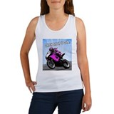 Catch Me if U Can (Motorcycle) Women's Tank Top