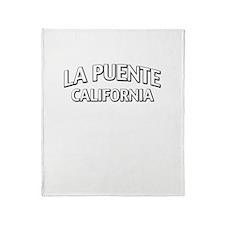 La Puente California Throw Blanket