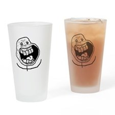 Forever Alone Teeth Drinking Glass