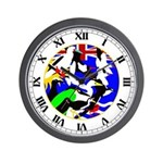 Chagos Birds Wall Clock