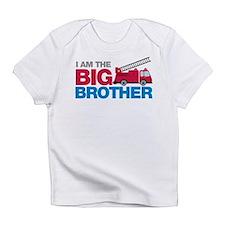 Firetruck Big Brother Infant T-Shirt
