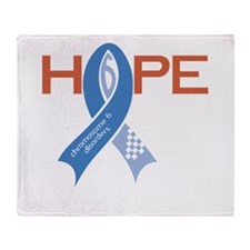 Chromosome 6 Support Throw Blanket