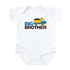 Dump Truck Big Brother Infant Bodysuit