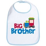 Train Engine Big Brother Bib